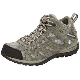 Columbia Redmond Shoes Women Mid WP light grey / sky blue